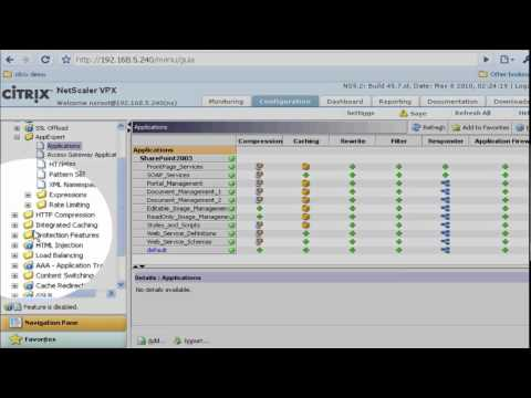 VIDEO HACK for MPX (N90X) NetScaler MPX 5500 shown - YouTube