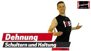 Körperhaltung verbessern - Schulter dehnen