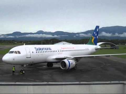 Solomon Airlines Airbus A320