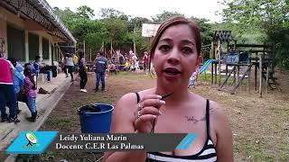 Comunidad de la vereda Las Palmas realizó actividad de integración