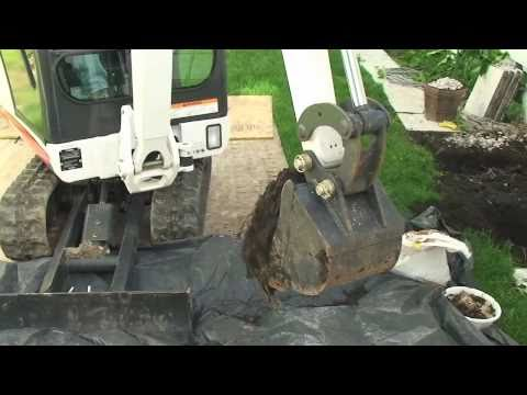 Installing a Basement Egress Window   Bismarck ND (701) 223-1008