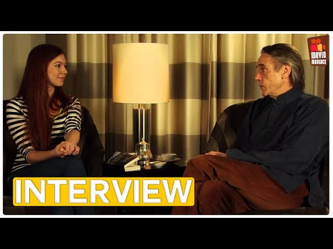 Night Train to Lisbon | Jeremy Irons Exclusive Interview (2013)