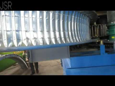 Arc Roof Panel Curving Machine