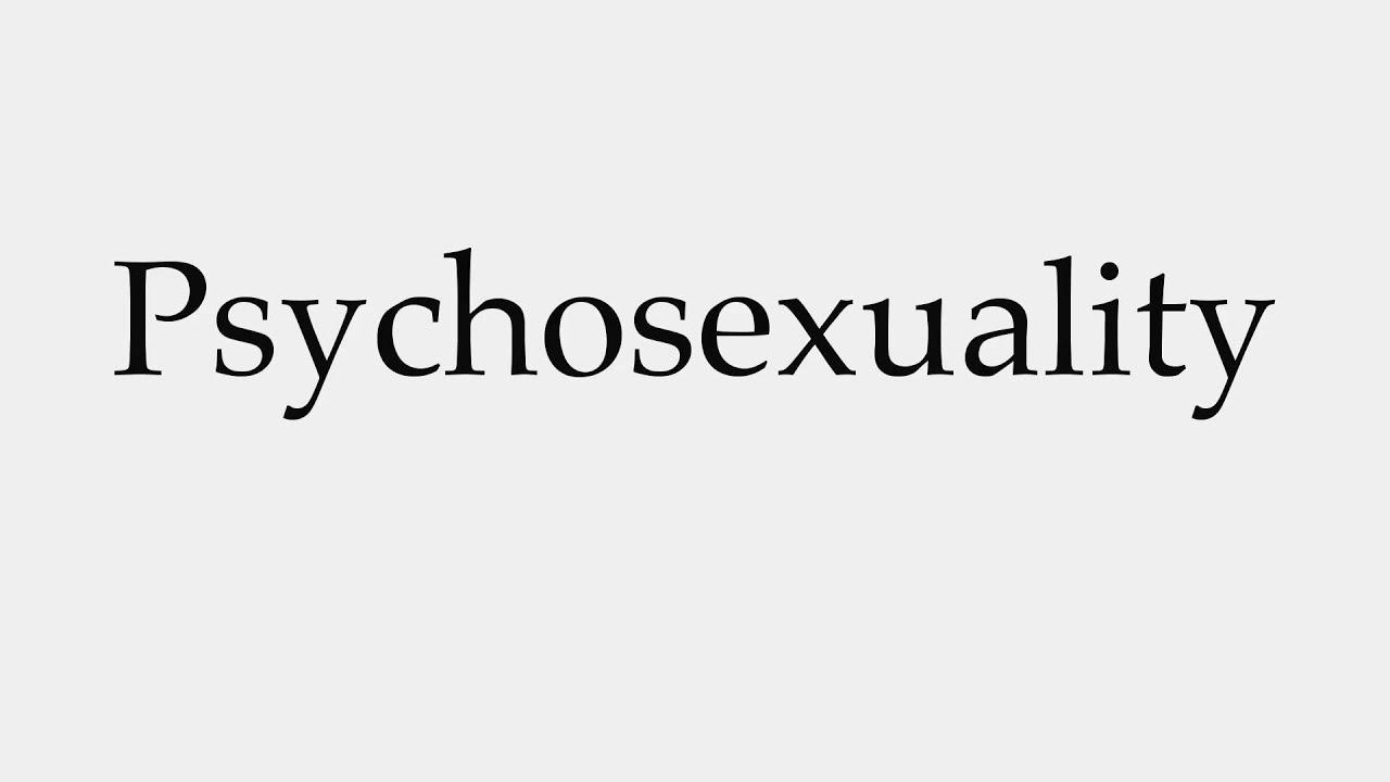 Psychosexuality