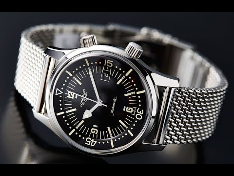 The Longines Legend Diver That Won Us Over, It's All About That Milanese Bracelet!