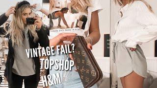 COME SHOPPING WITH ME & HAUL - Vintage (Fail?!), Topshop & H&M | Fashion Influx