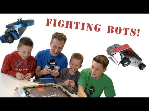 BattleBots Paxton vs Ashton!