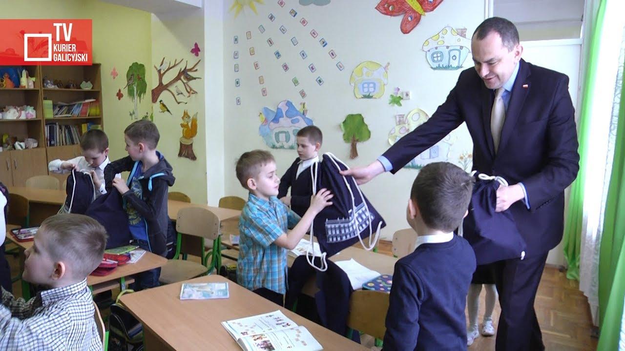 Wizyta ministra Adama Kwiatkowskiego w Mościskach i Strzelczyskach