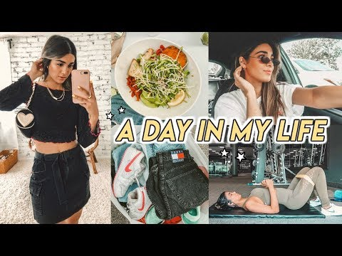 VLOG ☆ thrift trip, body workout, what I eat + more!