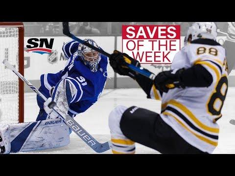NHL Saves of the Week: Andersen Amazes