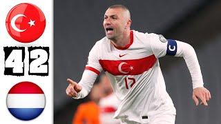 Турция Нидерланды 4 2 Обзор Отборочного Матча Чемпионата Мира 24 03 2021 HD
