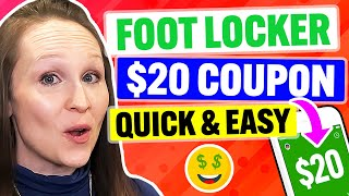 Foot Locker Coupon & Promo Code 2021: Get MAX Discount Quickly!