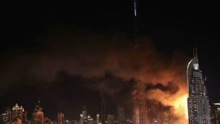 Fire breaks out near world's tallest structure Burj Khalifa in Dubai