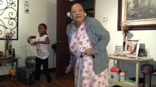 My 97 year old granny and daughter dancing