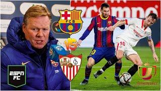 COPA DEL REY Barcelona vs Sevilla, partidazo por un cupo en la final ¿Remontada o fracaso? | ESPN FC