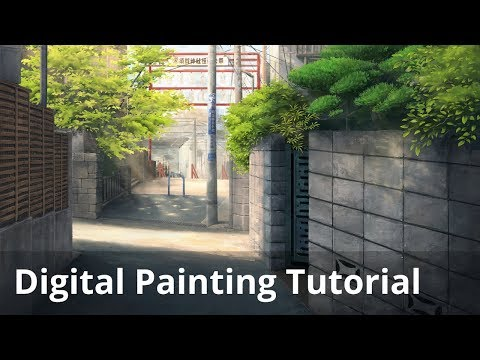 """""""Your Name."""" Digital Painting Tutorial – Part 3/3"""