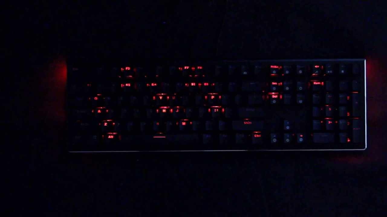 Rosewill NEON K85 RGB Keyboard Review | TechPowerUp