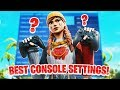 The BEST NEW Sensitivity & Settings For PS4 + Xbox! (Fortnite PS4 + Xbox)