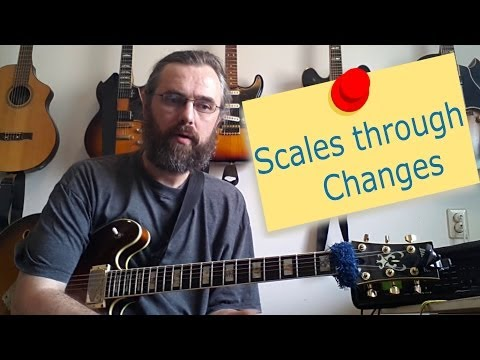 Practicing Scales Through Changes