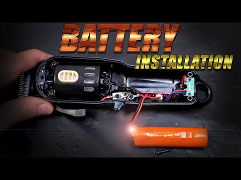 How To Install Replace Wahl Cordless Magic/Sterling 4 Clipper Battery   HD 4K