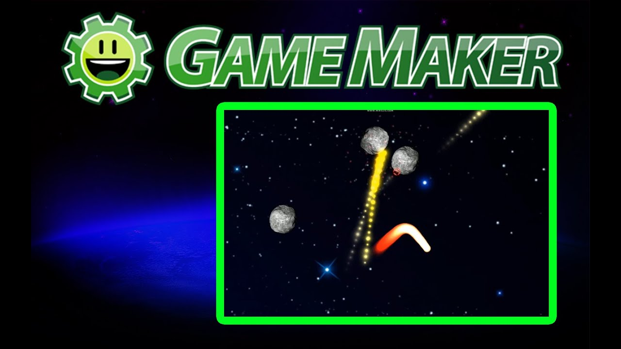 Game maker particle system