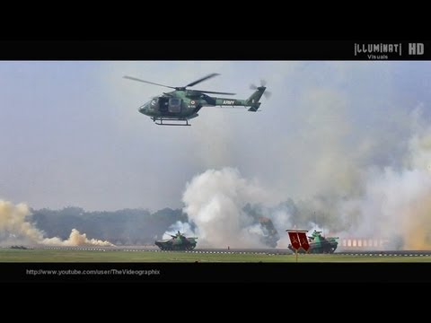 Indian Army Dhruv Helicopters in Action