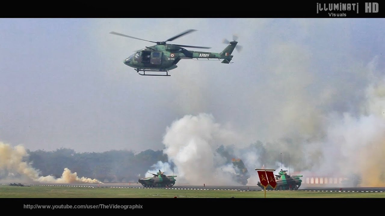 Indian Army Dhruv Helicopters in Action - YouTube Army Helicopters In Action