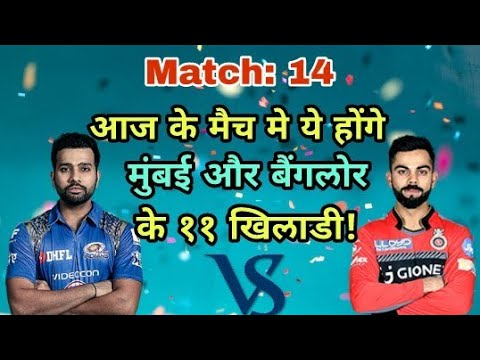 MI vs RCB IPL 2018: Mumbai Indians vs Royal challengers Bangalore Predicted Playing Eleven (XI)