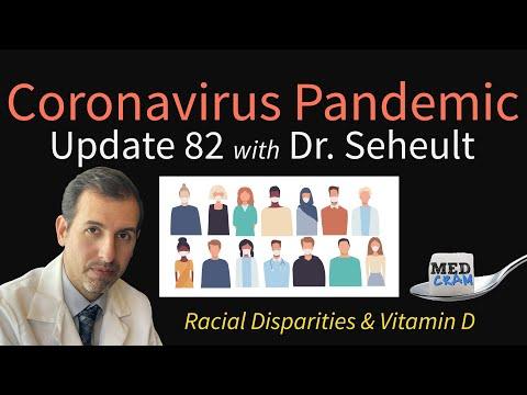 Coronavirus Pandemic Update 82: Racial Disparities with COVID-19 & Vitamin D