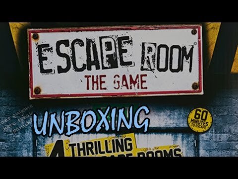 Escape Room: The Game - Juego de Mesa - Unboxing
