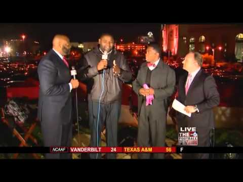 THE FOOTBALL FEVER: Orlando Pace Live on Pre