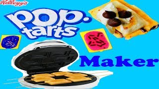 DIY Pop Tarts Maker For Dessert For Kids Cream Cheese Chocolate Pop Tarts At Home