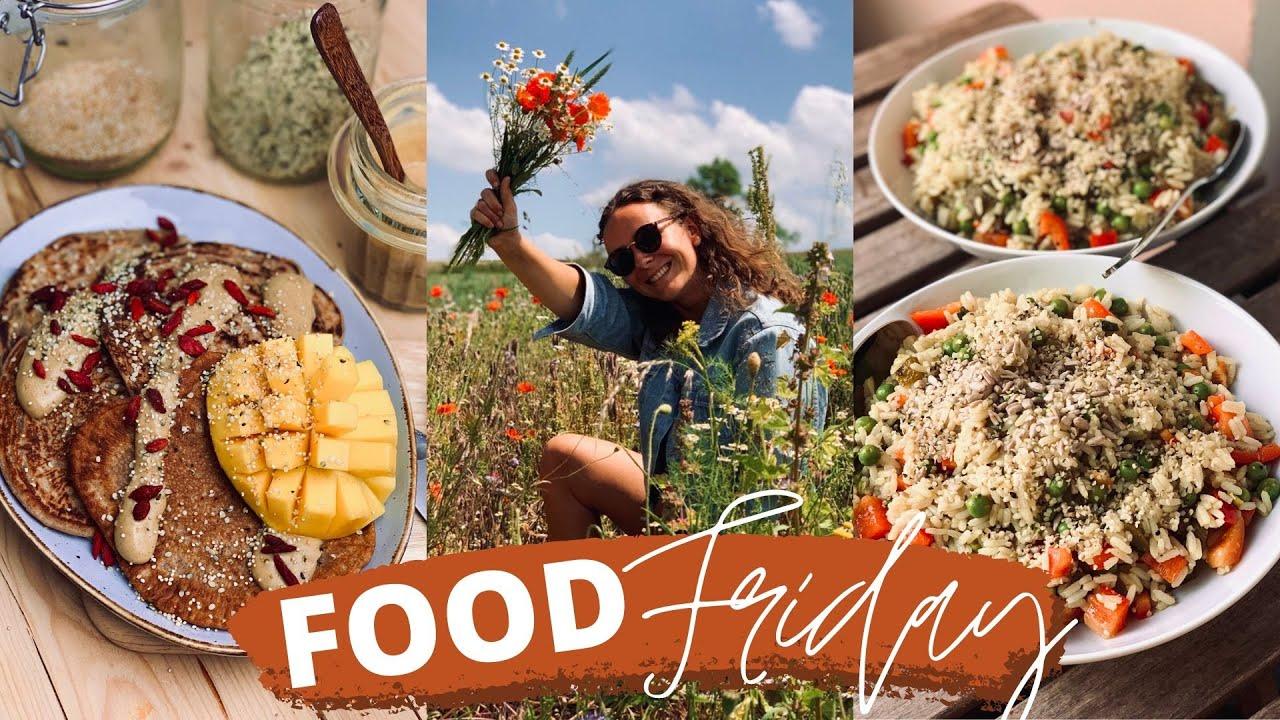 FOOD FRIDAY #8 » Pancakes, Reissalat, Burger│Veganes Food Diary