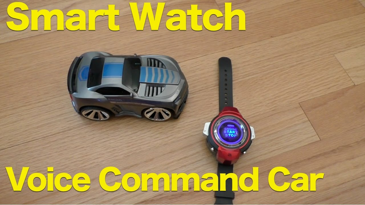 Smart Rc Car Smart Watch Voice Control Racer Review Funny R 101