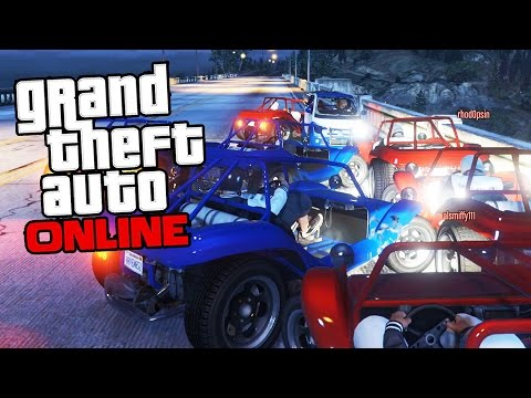 GTA 5 Online - Running Back!