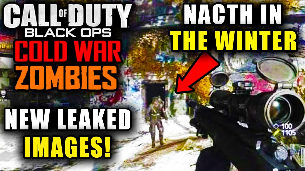 Black Ops Cold War Zombies New Leaked Zombies Gameplay Images Cod 2020 Zombies Info Youtube