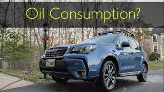 homepage tile video photo for 2017 Subaru Forester XT: Oil Consumption Still a Problem?