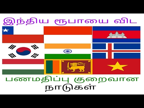 Currency With Less Value Then Indian Currency/இந்திய ரூபாயை விட பணமதிப்பு குறைவான நாடுகள்/B2E Info