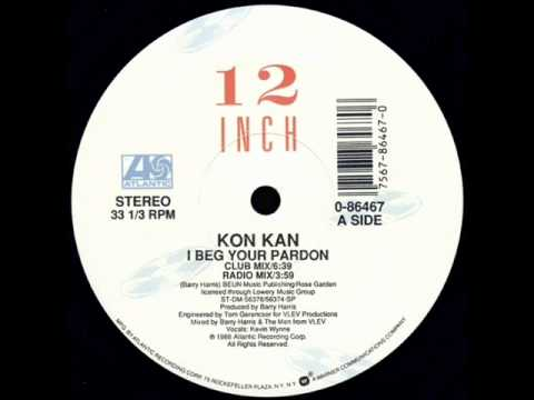 Kon Kan - I Beg Your Pardon (Hot Tracks Mix)