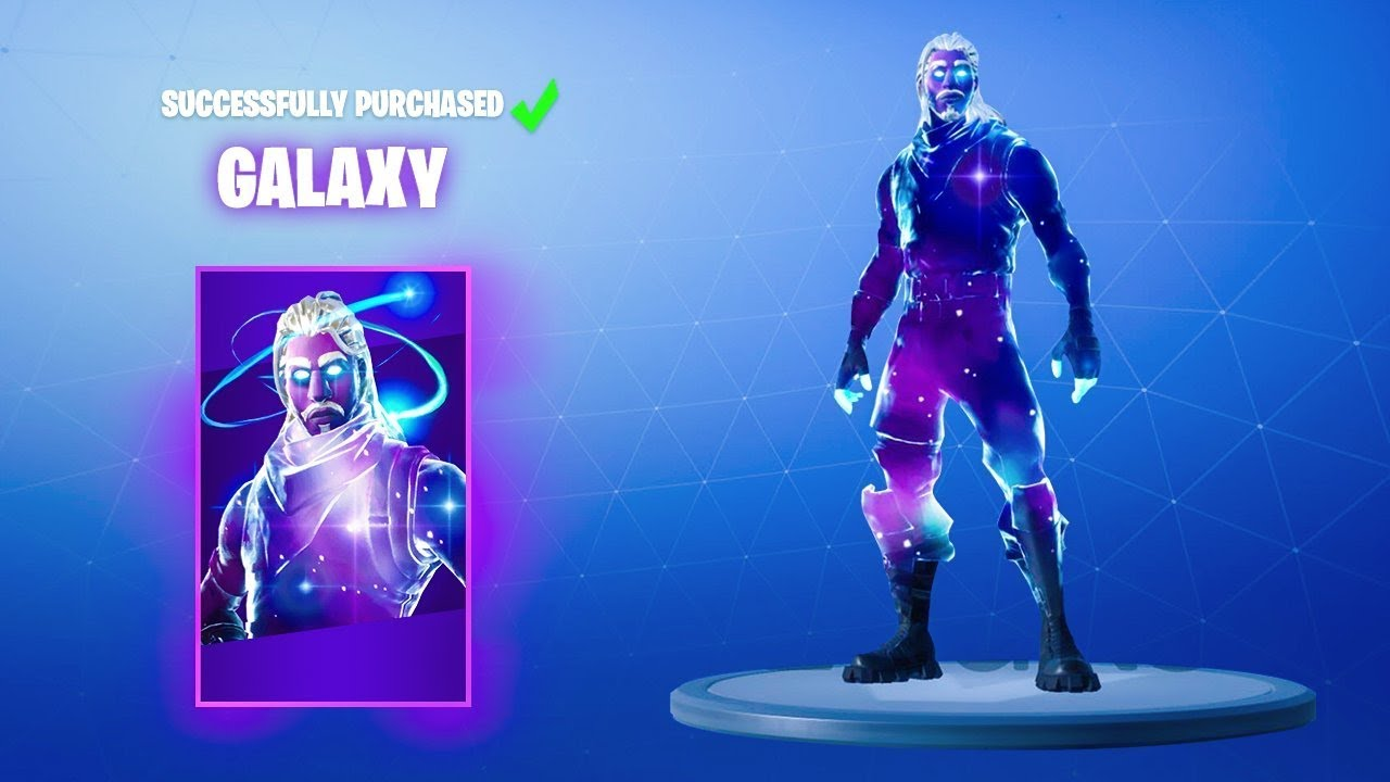 How to unlock 1000 galaxy skin in fortnite rarest skin youtube - Fortnite galaxy skin free ...