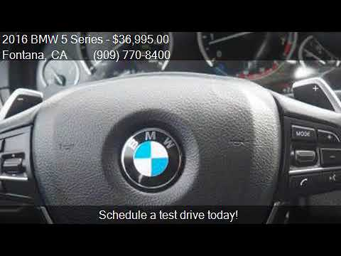 2016 BMW 5 Series 535i 4dr Sedan for sale in Fontana, CA 923