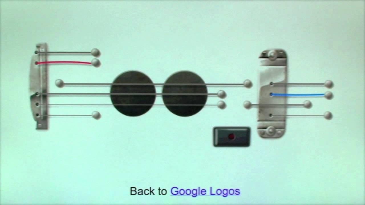 Farajaka Google Doodle Guitar Les Paul Youtube