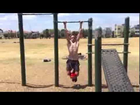 OZ Street Workout Melbourne 40 Degrees Edition