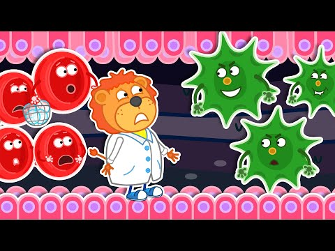 Lion Family Official Channel | Wash Your Hands. Immunity vs Bacteria | Cartoon For Kids |