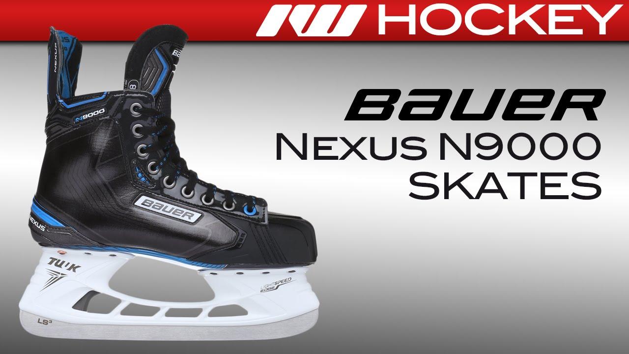 4365446e026 Bauer Nexus N9000 Skate Review - YouTube