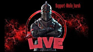 Fortnite india live stream|| Use my support a creator code -Mello_harsh || Season8 grind|| Lets make 1