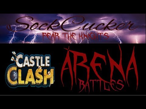 Castle Clash Arena Battles 1 Defense And 1 Attack