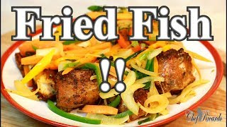 The best. Pan fried fish  !! FROM (JAMAICAN CHEF !CARIBBEAN CHEF )