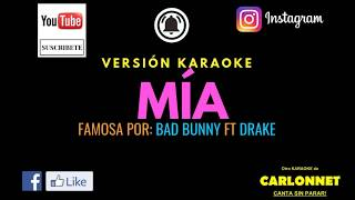 M A Bad Bunny Ft Drake Karaoke.mp3