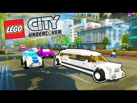 LEGO POLICE SOLVES ALL THE CRIMES! - Lego City Undercover HD Gameplay - 100% Lego City